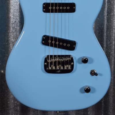 G&L USA SC-2 Himalayan Blue Guitar & Bag SC2 #6272 for sale