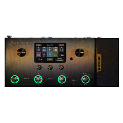 Hotone Ampero MP-100 Guitar Bass Amp Modeling IR Cabinets Simulation Multi Language Multi-Effects for sale