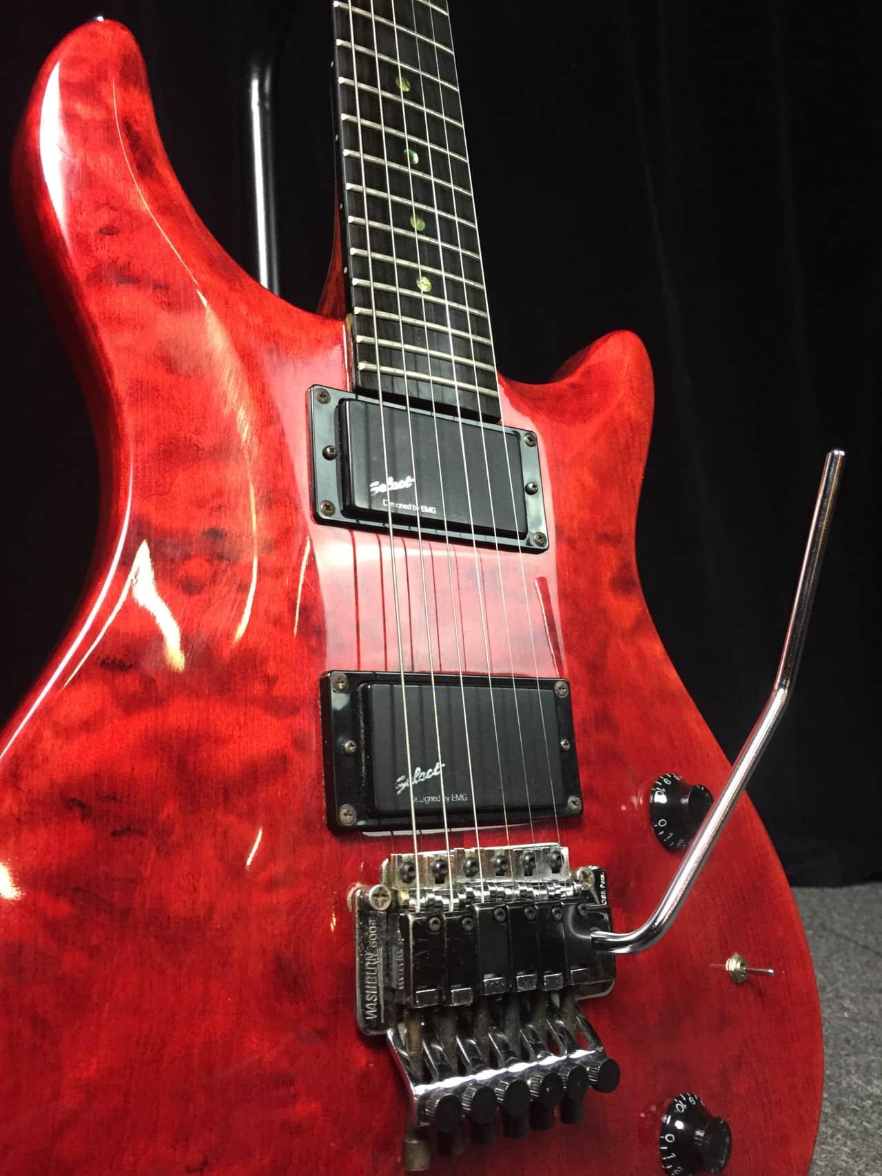 Vintage 1980\u0027s Washburn RS10V Solid Body Electric Guitar | Reverb