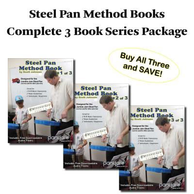 Panyard Jumbie Jam Steel Pan Method Book Series Package - All Three Books <W5526>