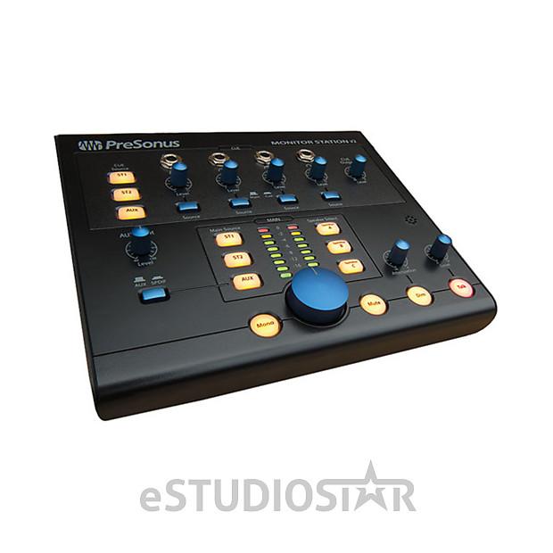 presonus monitor station v2 desktop studio control center reverb. Black Bedroom Furniture Sets. Home Design Ideas