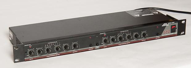 Audio Logic 660 Dual Compressor/limiter with Gate | Reverb