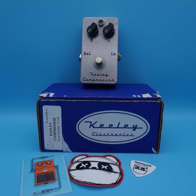 Keeley C2 2-Knob Compressor w/Box | Fast Shipping!