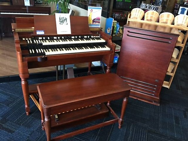 1957 Vintage Hammond B3 Organ w/ Original Bench & Leslie Cab! One-Owner!  #35657