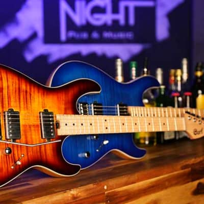 Cort G290 FAT Electric Guitar, Antique Violin Sunburst w/FREE Hardshell Case!