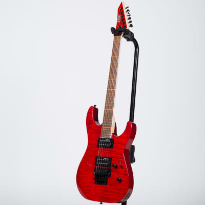 ESP LTD M-200FM Electric Guitar - See Thru Red for sale