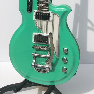 Eastwood Airline Map Baritone Seafoam Green for sale