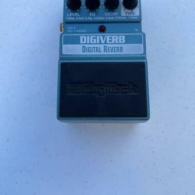 Digitech X-Series XDV Digiverb Stereo Digital Reverb Rare Guitar Effect Pedal