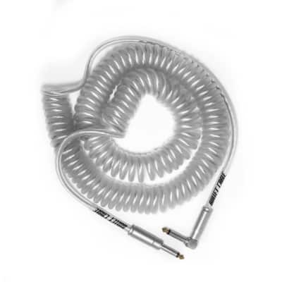 BULLET CABLE 30′ CLEAR COIL CABLE for sale