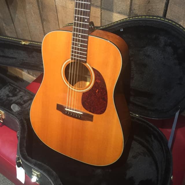 Sigma Acoustic Guitar With Hardshell Case image