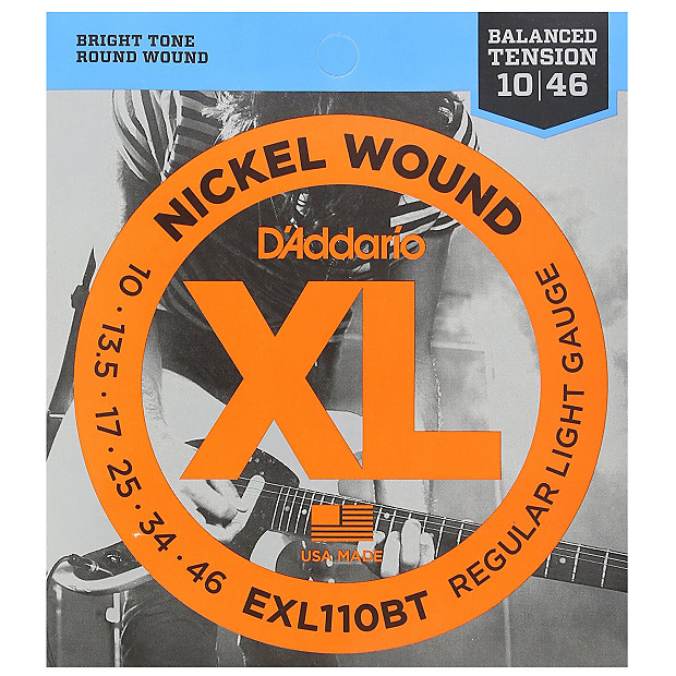 6 Pack D/'Addario NYXL1046 3P Nickel Wound Regular Light 10-46 nyxl1046-3p 3d