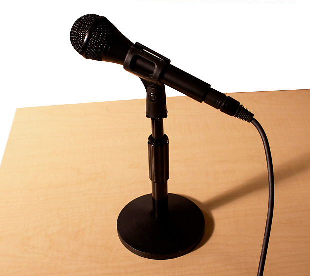 Sensational Chromacast Adjustable Table Bass Drum Microphone Stand With Mic Clip Holder Interior Design Ideas Clesiryabchikinfo