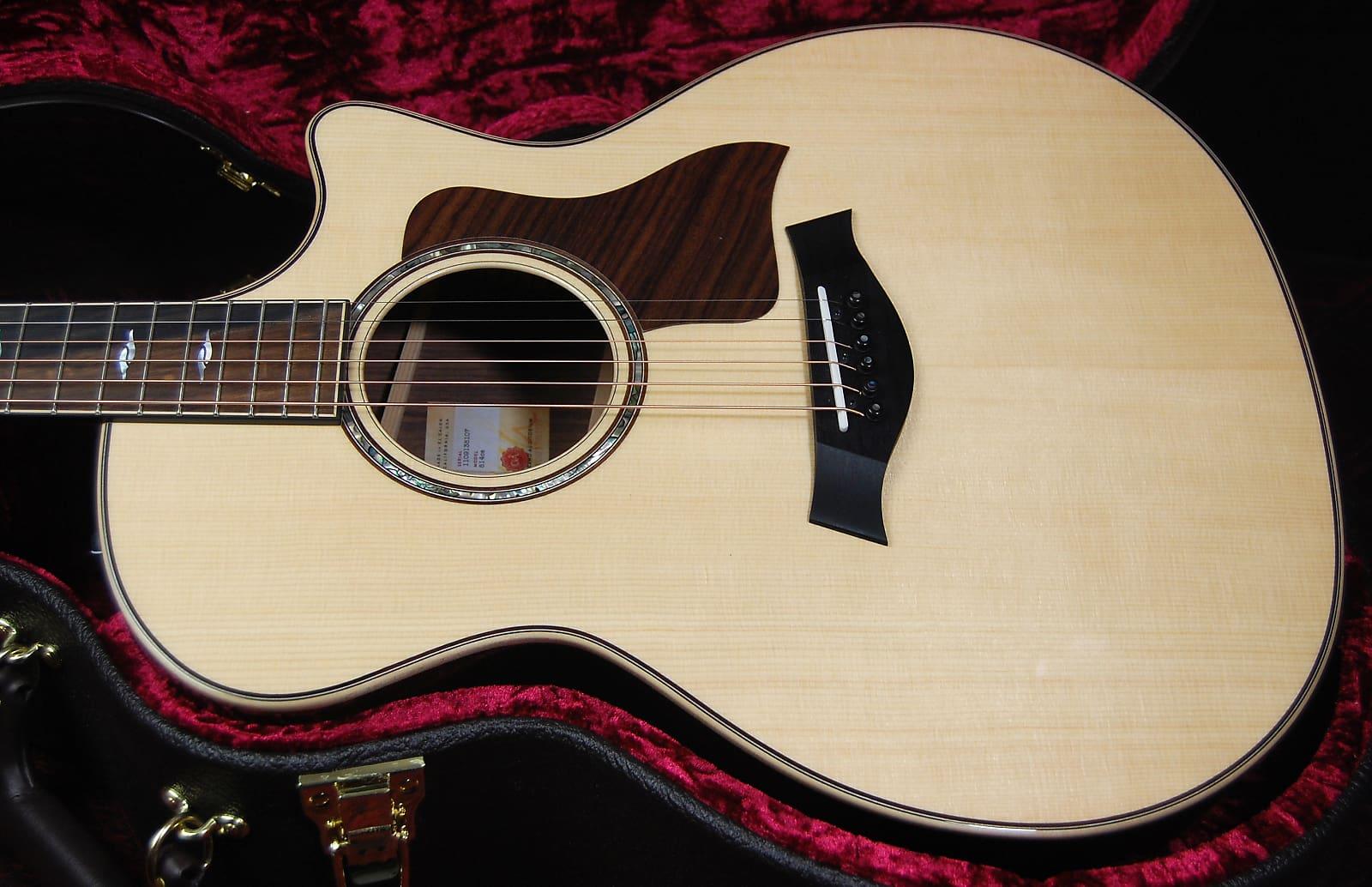 Acoustic Electric Guitars Taylor 814ce V-class Grand Auditorium Acoustic-electric Natural
