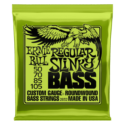 Ernie Ball P02832 REGULAR SLINKY NICKEL WOUND ELECTRIC BASS STRINGS - 50-105 GAUGE