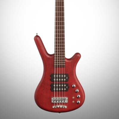 Warwick GPS148401 PAASHFR German Pro Series Corvette $$ 4-String RH Electric Bass - Burgundy Red for sale
