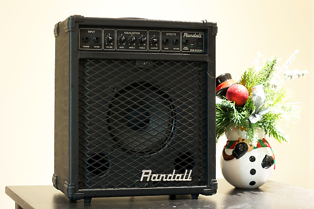 Randall RB30XM Bass Amplifier Combo - Used