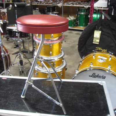 Ludwig Oval Throne 60's  Red