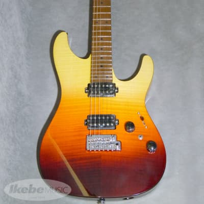 Ibanez Premium AZ242F (Tequila Sunrise Gradation) (Discontinued Model) (Outlet Special Price) for sale