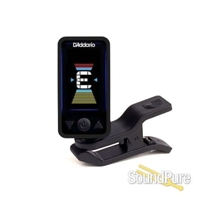 D'addario Planet Waves Eclipse Headstock Tuner, Black