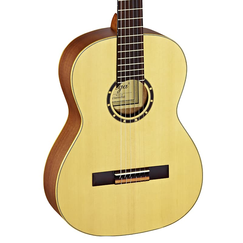 Ortega Family Series 7/8 Size Spruce Top Nylon String Acoustic Guitar R121-7/8