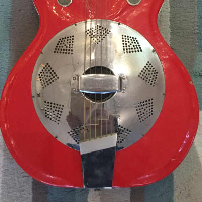 Supro Resonator 1963 Red for sale