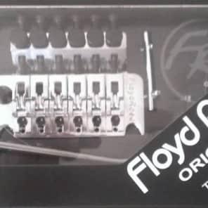 FLOYD ROSE® ORIGINAL TREMOLO CHROME W/LOCKNUT choose R2,R3,OR R4 FRT100K