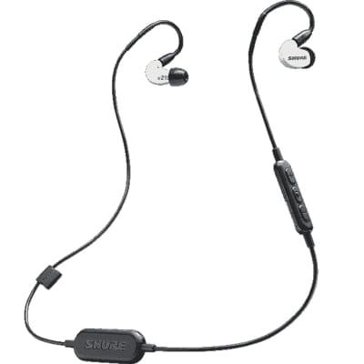 Shure SE215SPE-W-BT1 - Dynamique 1 voie Bluetooth blanc