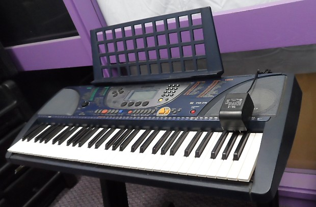 yamaha psr 270 keyboard synthesizer midi electric piano w reverb. Black Bedroom Furniture Sets. Home Design Ideas