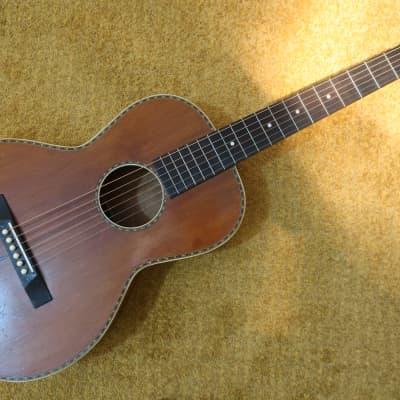 Vintage 1930s PRE War WW2 Regal Parlor Acoustic Guitar Finest Woods Martin Washburn Ditson Regal Lak for sale