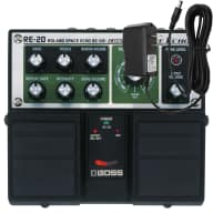 Boss RE-20 Roland RE-201 Space Echo with FREE Power Supply