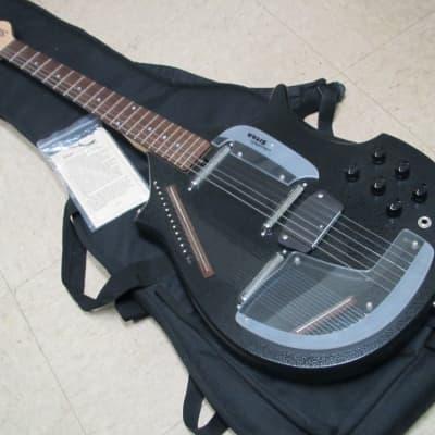 Jerry Jones Electric Master Sitar Guitar Black Crackle 2004ish NICE for sale