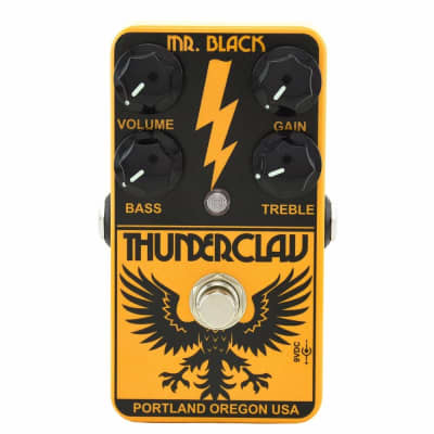 Mr. Black Thunderclaw Distortion Thunder Claw Guitar Effect Pedal - Brand New