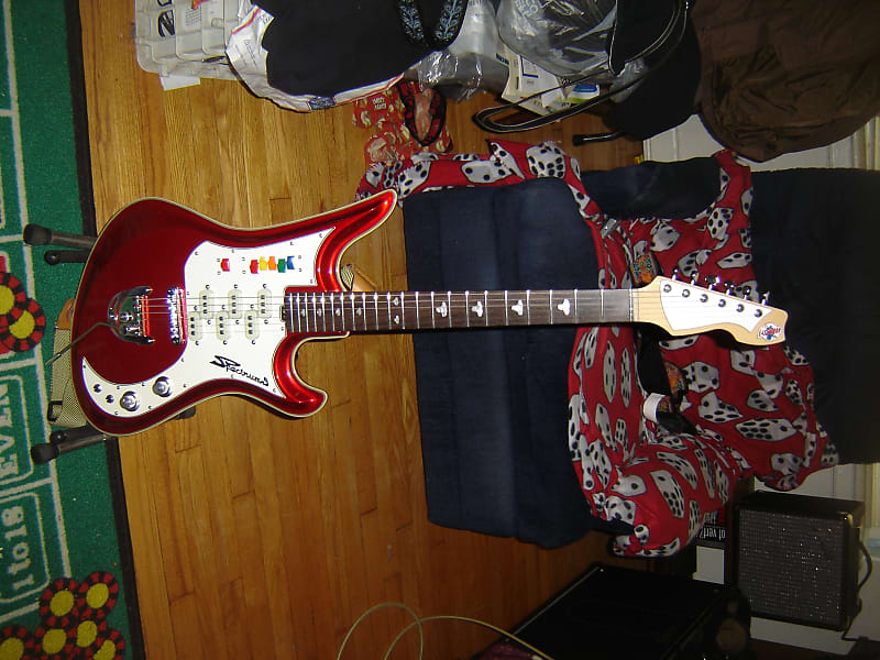 eastwood teisco spectrum 5 electric guitar with hsc 2018 reverb. Black Bedroom Furniture Sets. Home Design Ideas