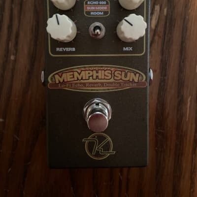 Keeley Memphis Sun Lo-Fi Reverb, Echo and Double Tracker
