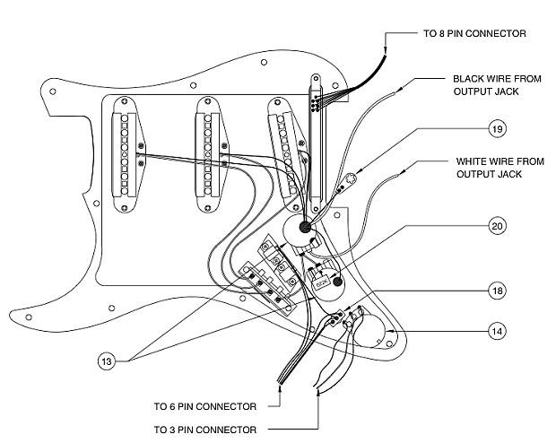 [DIAGRAM_5NL]  Roland GK3 Pickguard Snyth Midi Fender Stratocaster Loaded | Reverb | Fender Roland Ready Strat Wiring Diagram |  | Reverb