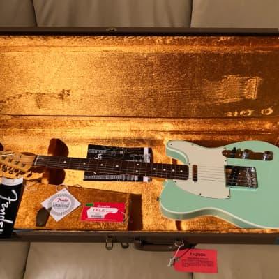 Fender American Vintage '62 Telecaster Custom 1999-2012 Surf Green for sale