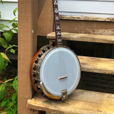 1924 17 fret Paramount Leader Tenor Banjo for sale
