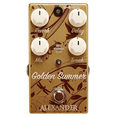 Alexander Pedals Golden Summer Reverb Pedal