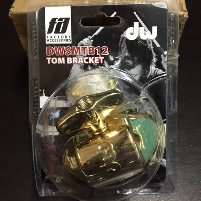 DW TB12 Tom Bracket Gold - DWSMTB12GD2 image