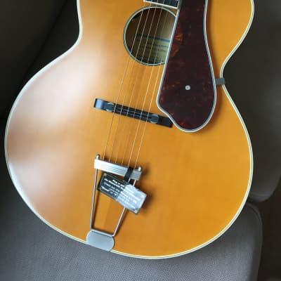 Epiphone Masterbilt Century Collection De Luxe Acoustic/Electric Guitar Vintage Natural for sale