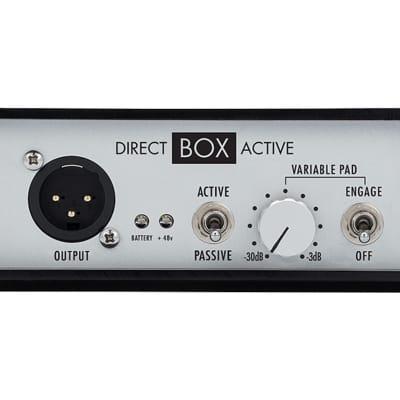 Warm Audio Direct Box Active Circuit