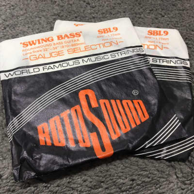 "Rotosound-Swing Bass D String Set (.70"")"