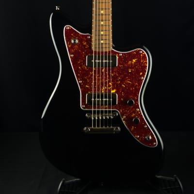 Fano JM6 Omnis P90 Bull Black Electric Guitar With Bag