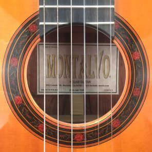 Montalvo Classical Guitar 2007 for sale