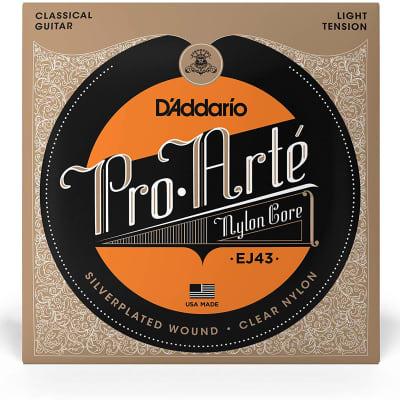 D'Addario Pro-Arte Nylon Classical Guitar Strings - EJ43 Light Tension