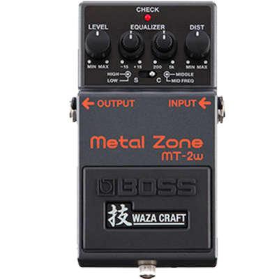 Brand New Boss MT-2W Waza Craft Metal Zone