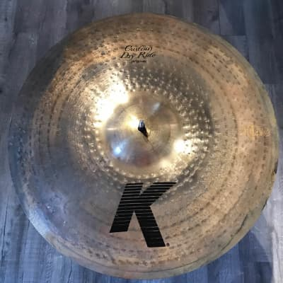 Used Zildjian K Custom Dry Ride Cymbal 20