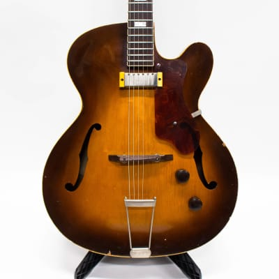 1953 Epiphone Zephyr Regent Hollow Body Electric Guitar - Sunburst for sale
