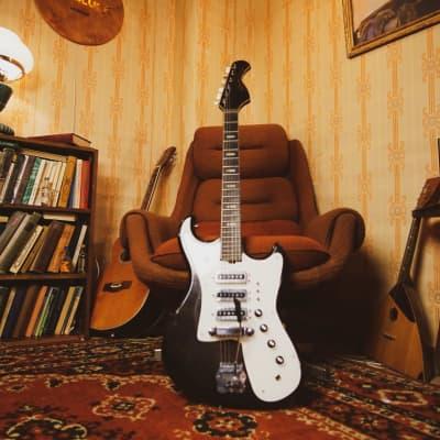 MUSIMA Eterna de Luxe rare vintage electric guitar strat jaguar jazz GDR 70s for sale