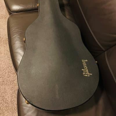 Gibson Byrdland 1970 Black Guitar Case With Original Key